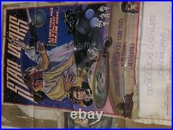 STAR WARS Style D 770021 Rare Original Movie Poster 27X41 Folded Studio Release