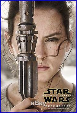 STAR WARS THE FORCE AWAKENS Kylo, Rey, Finn 5X7' x3 Original Theater Banners