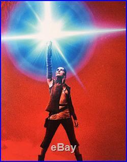 STAR WARS THE LAST JEDI MOVIE POSTER 2 Sided ORIGINAL Ver B 27x40 EPISODE VIII