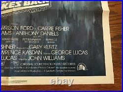 STAR WARS The Empire Strikes Back 1980 Style A Original Movie Poster 27x41 Rare