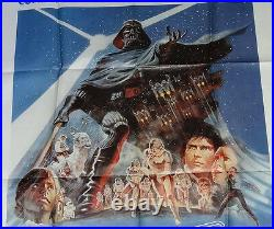 STAR WARS The Empire Strikes Back original Poster Italy 1980