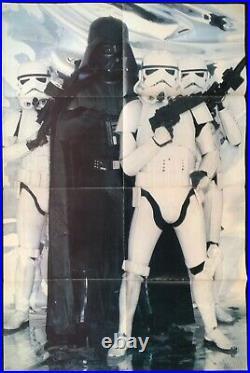 Star Wars 1977 4x Original Poster Magazines Job Lot