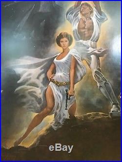 Star Wars 1977 Original Movie Poster 1SH First Printing International Style A