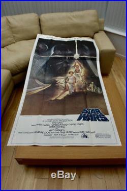 Star Wars 1977 Original Us 3 Sheet