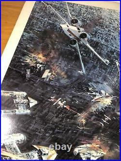 Star Wars 1977 Promo Poster Berkey Art Read Description