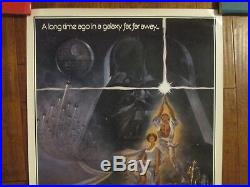 Star Wars 1977 Style A Original First Printing MINT1Sheet Movie Poster -Lucas