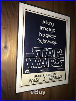 Star Wars 1977 Vintage Poster Original featured in collecting guide Grail poster
