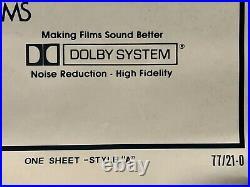 Star Wars 77/21-0 Hairy Belt Original Bootleg Rolled One Sheet Movie Poster