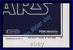 Star Wars B MOVIE POSTER 27x41 ROLLED NEVER-FOLDED ARCHIVAL MUSEUM LinenBACKED