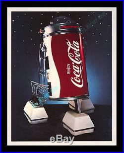 Star Wars CENSORED-WITHDRAW Coca-Cola COBOT Movie Poster Promotional DISPLAY
