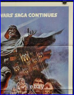 Star Wars Empire Strikes Back 1980 Orig 27x41 B Nm Movie Poster Harrison Ford