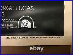 Star Wars Empire Strikes Back OFFICIAL 1981 CINEMA 41 x 27 Poster