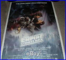 Star Wars Empire Strikes Back Original 40 X 60