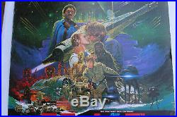 Star Wars Empire Strikes Japanese Japan Original Movie Poster Ohrai 20x28.5 B2