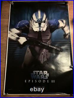 Star Wars Episode III Revenge of the Sith UK BUS SHELTER 6x4ft
