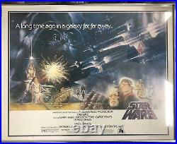 Star Wars Episode IV A New Hope Original 1977 1st Released Half Sheet NSS 77/21