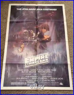 Star Wars Episode V Original (27 x 41) One Sheet Style A Movie Poster