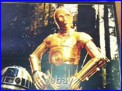 Star Wars IMMUNISED Bus Stop Poster original 1983