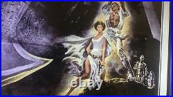 Star Wars IV New Hope Poster 1977 One Sheet Style A 77/21-0