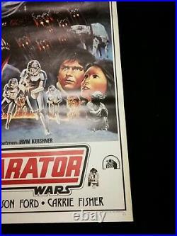 Star Wars Movie Poster The Empire Strikes Back Original Turkish Dhl Fast Ship