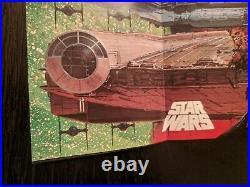 Star Wars Noriyoshi Ohrai 1978 Japanese Release Poster Near Mint Condition