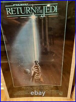 Star Wars Officially Licensed One Sheet Movie Posters Originals/Rare 1980-83