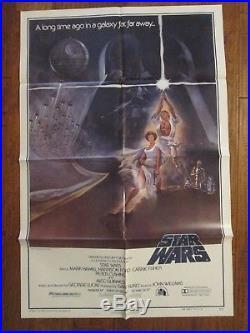 Star Wars Original 1977 1sheet MINT Movie Poster George Lucas