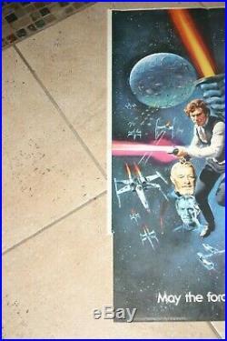 Star Wars Original British Quad Poster -30x40