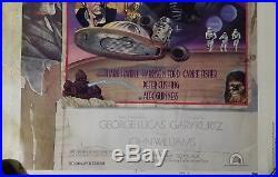 Star Wars Original Drew Struzan Charlie White III Studio Poster! Nss D770021