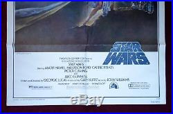 Star Wars Original Movie Poster 1977 Style A 1sh A New Hope Nm C9