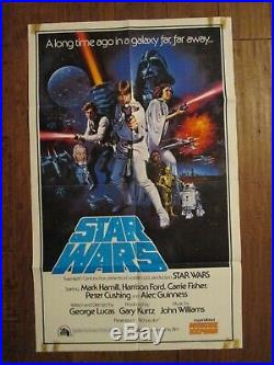 Star Wars Original Netherlands Movie Poster George Lucas