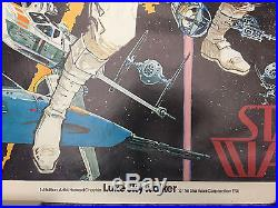 Star Wars / Original Poster #1 Comic Book Art Howard Chaykin 1st Edition