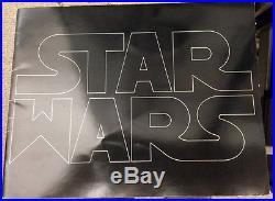 Star Wars / Original Pressbook 1977 Pre-trademark Exhibitors Book