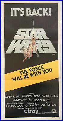 Star Wars Original Vintage Movie Poster 1981