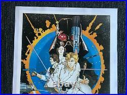 Star Wars Poster 1 (1976) Movie Poster Zig Zag Germany On Line 27x 40 NM+