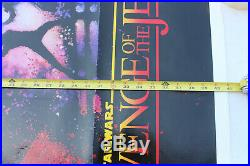 Star Wars REVENGE OF THE JEDI No Date Original Movie Poster 41x27 One Sheet RARE