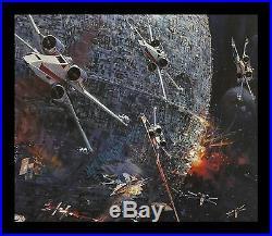 Star Wars ROLLED NEVER-FOLDED! 1977 BERKEY IN STORE Movie Poster Display