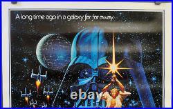 Star Wars R-1992 Original 27x41 B Rolled Nr Mint Movie Poster 15th Anniversary