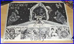 Star Wars Return of the Jedi / Powrót Jedi Polish B2 original Poster RARE