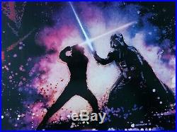 Star Wars Revenge Of The Jedi 1983 Original Movie Poster Authentic Darth Vader