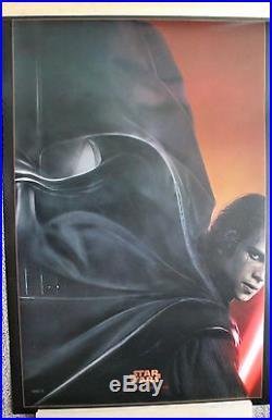 Star Wars Revenge Of The Sith Episode III -original Advance Teaser Poster