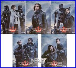 Star Wars Rogue One Bus Shelter Posters Set Extremly Rare Original Movie Posters
