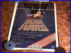Star Wars Roll Os 27x41 Movie Poster Revenge Snipe 1982