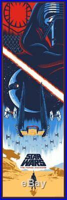 Star Wars Sequel Trilogy Alt Movie Poster Set Eric Tan Rise Skywalker NT Mondo
