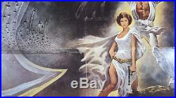 Star Wars (Style A) 1977 Original Movie Poster 27x41 Folded US 1 Sheet
