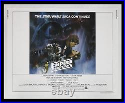 Star Wars THE EMPIRE STRIKES BACK'80 NearMINT ROLLED 22x28 MOVIE POSTER DISPLAY