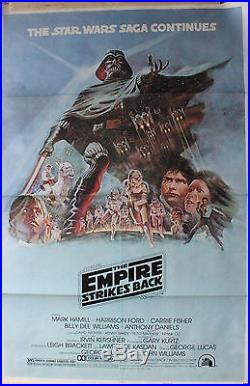 Star Wars The Empire Strikes Back -original Movie Poster Episode V Style B