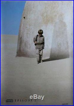Star Wars The Phantom Menace -original Advance Poster Episode I