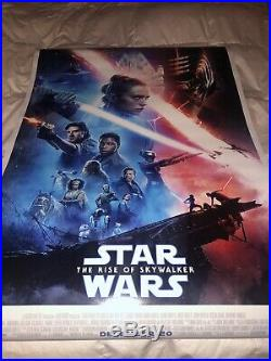 Star Wars The Rise Of Skywalker Final DS 27x40 Brand New Near Mint Never Used