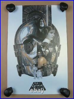 Star Wars Trilogy Poster Print SET 3 Acme Return the Jedi Devin Schoeffler Art
